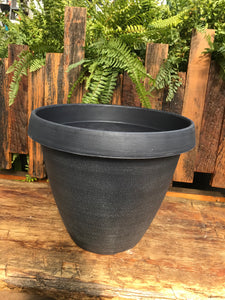 "Seascape Grey 14"" Cove Planter"
