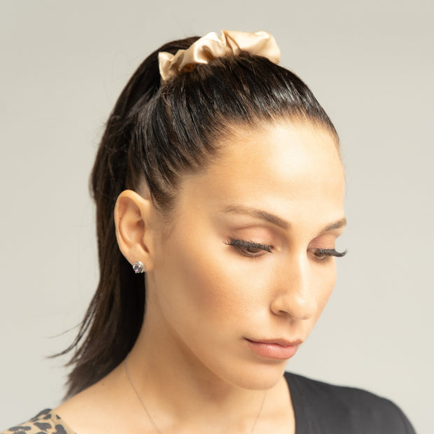 Satin Hair Scrunchie Set