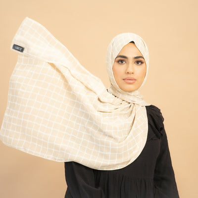 Windowpane Hijab
