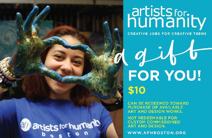 Artists For Humanity Gift Card