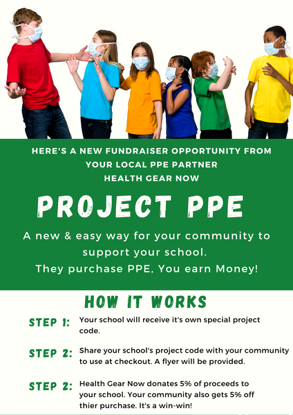 New PPE Fundraiser for Schools!