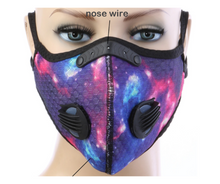 Load image into Gallery viewer, Tie Dye Summer Sports Mask