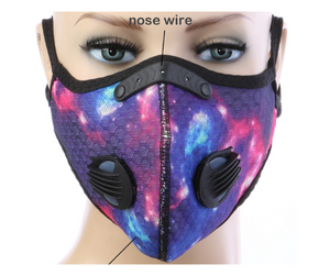 Tie Dye Summer Sports Mask