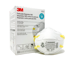 3M N95 Respirator Masks - NIOSH APPROVED