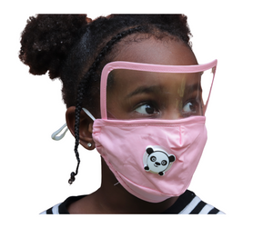 Kids Mask with Face Shield