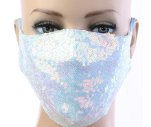 Load image into Gallery viewer, Sequin Mask w/ Filter