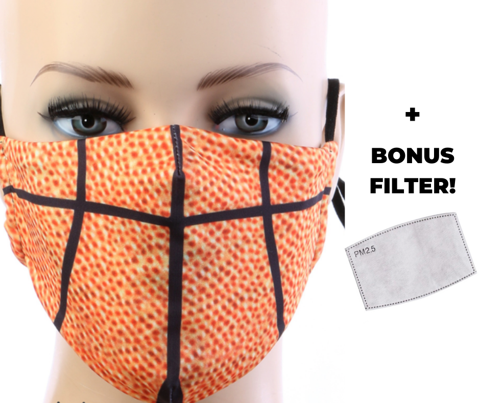 Basketball Mask w/ Filter