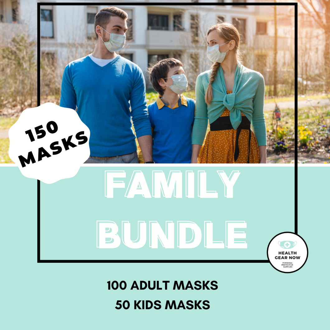 Family Bundle - 150 PACK