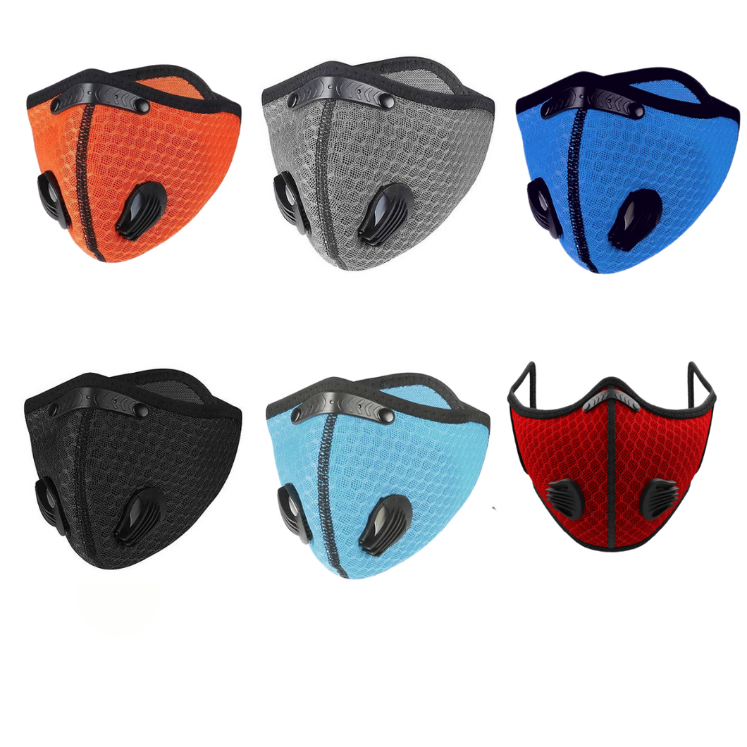 Sports Mask with Dual Valve
