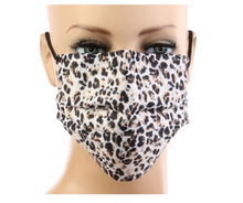 Load image into Gallery viewer, Cheetah Print 3Ply Face Masks - 20 PACK