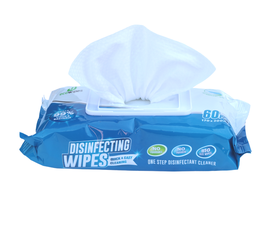 Kills 99% of Germs - Disinfectant Wipes