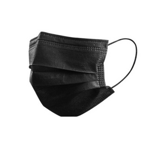 Black Face Mask - 20 PACK