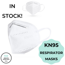 Load image into Gallery viewer, 50-Pack KN95 Respirator Masks