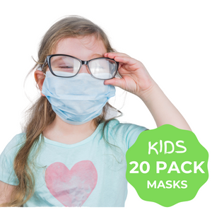 Kids Face Masks- 20 PACK