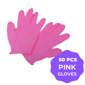Pink Disposalhttps://health-gear-now.myshopify.com/admin/products Gloves (Latex Free) - 50 pcs