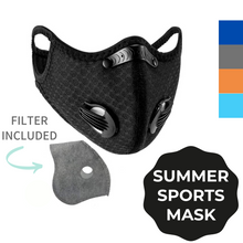 Load image into Gallery viewer, Sports Mask with Dual Valve