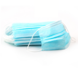 Blue 3Ply Face Masks - 20 PACK