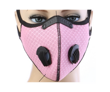 Load image into Gallery viewer, Pink Summer Sports Mask