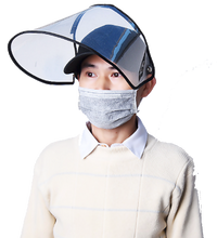 Load image into Gallery viewer, Baseball Cap Shield - Protective Hat with Face Shield