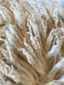 Raw Natural White Fleece 21