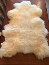 Load image into Gallery viewer, Natural White Sheepskin