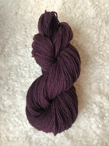 Dyed Corriedale Wool Yarn