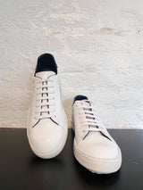 SOHO WHITE LEATHER SNEAKER-Ari Soho