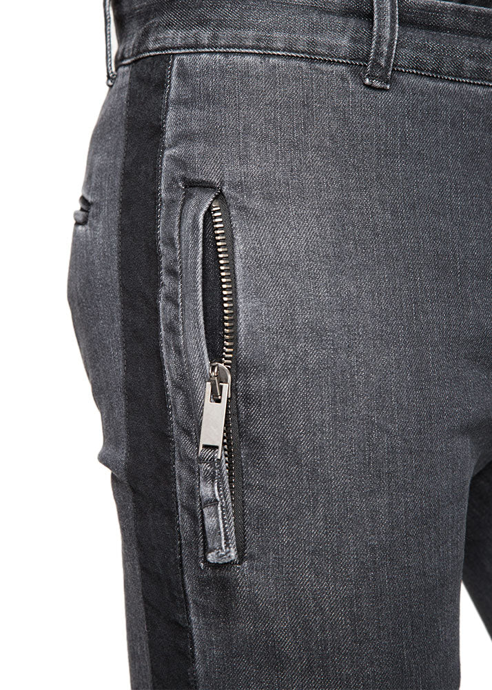 Denim Drawstring Trouser-Ari Soho