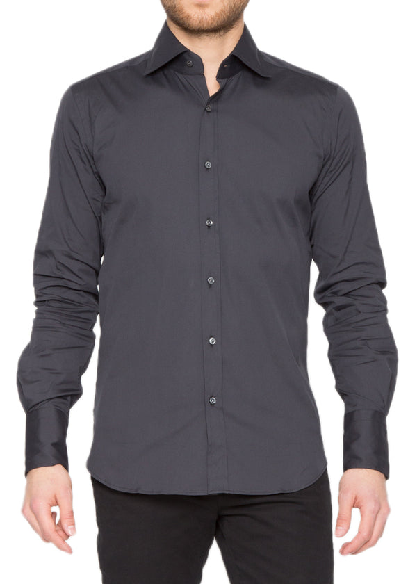 Ari9 Signature Shirt in Grey-Ari Soho