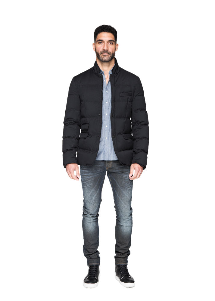The Down Fill Blazer Coat-Ari Soho