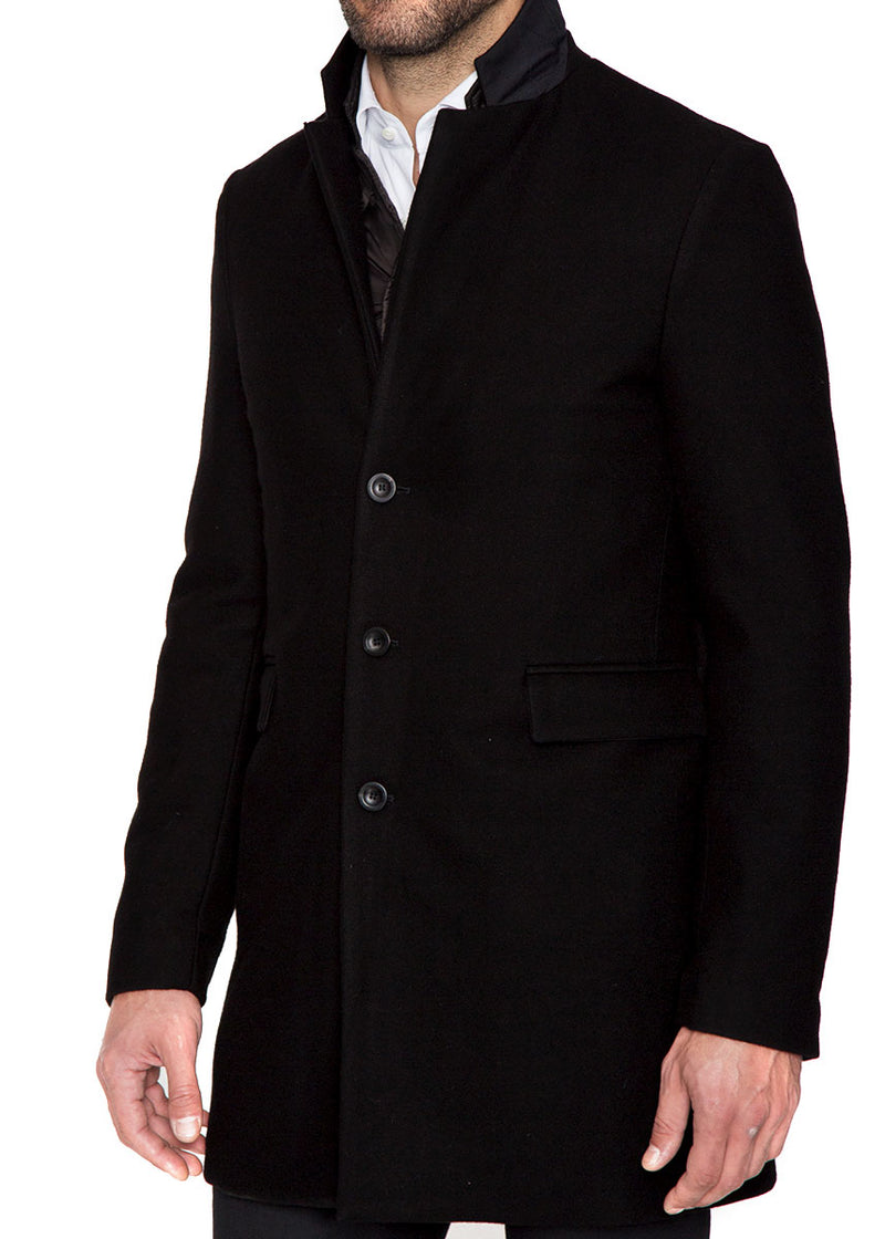 Wool and Cashmere Overcoat-Ari Soho