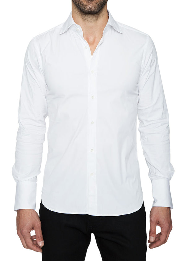 Ari9 Signature Shirt in White-Ari Soho