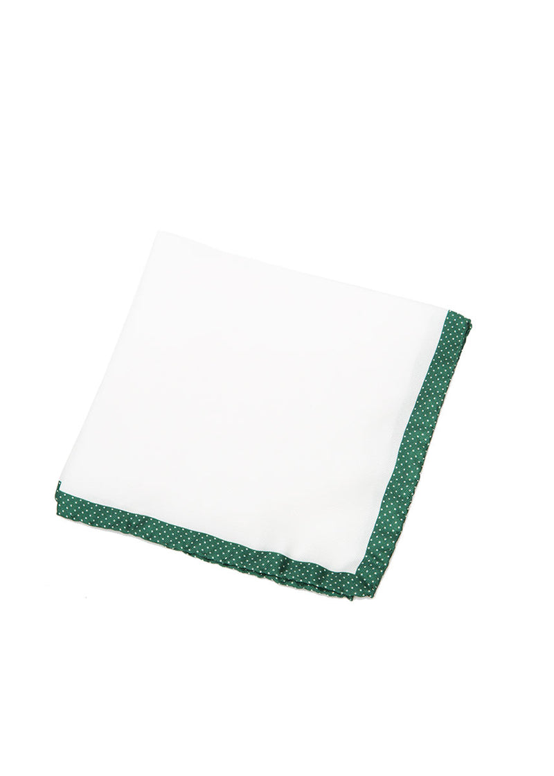Green Pocket Square-Ari Soho