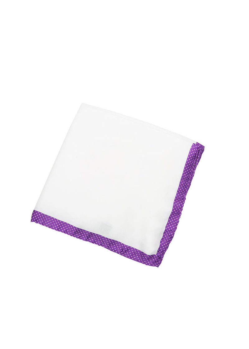 Purple Pocket Square-Ari Soho