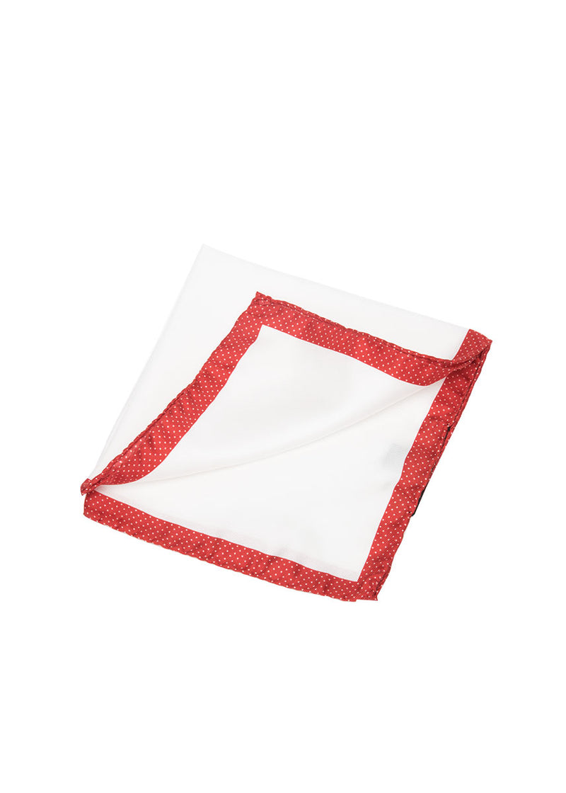Red Pocket Square-Ari Soho