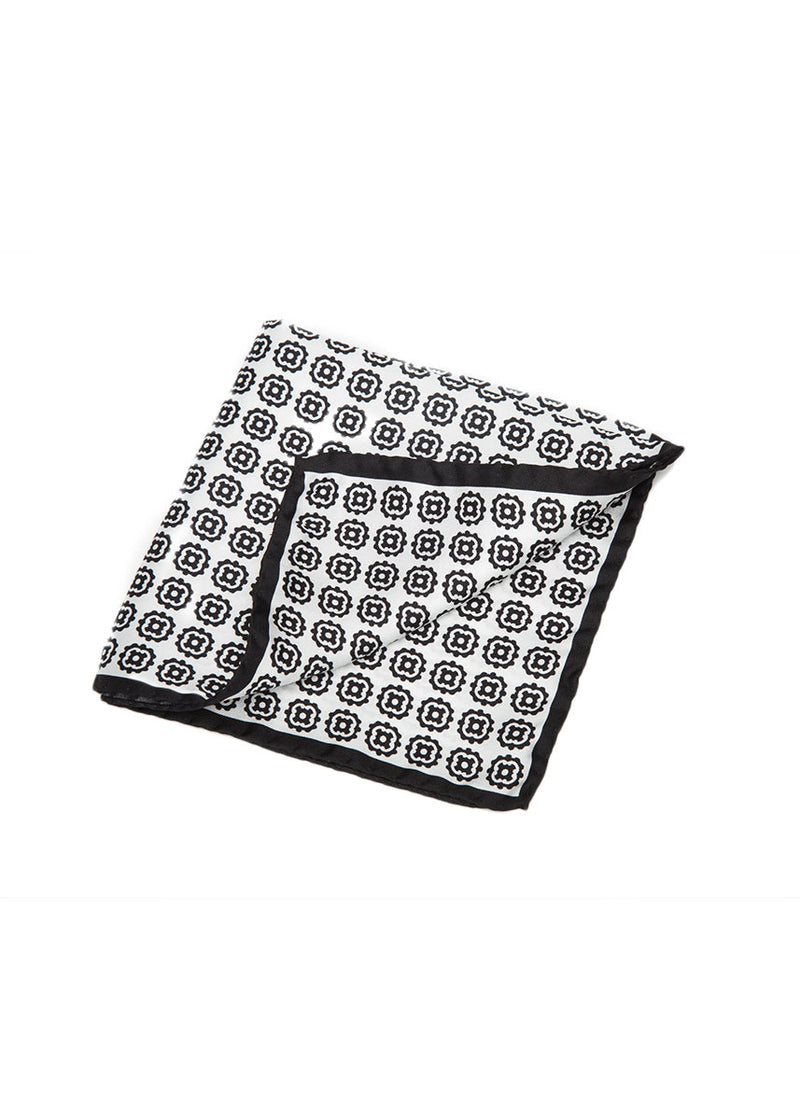 Black Pocket Square-Ari Soho