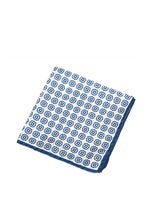 Blue Dots Pocket Square-Ari Soho