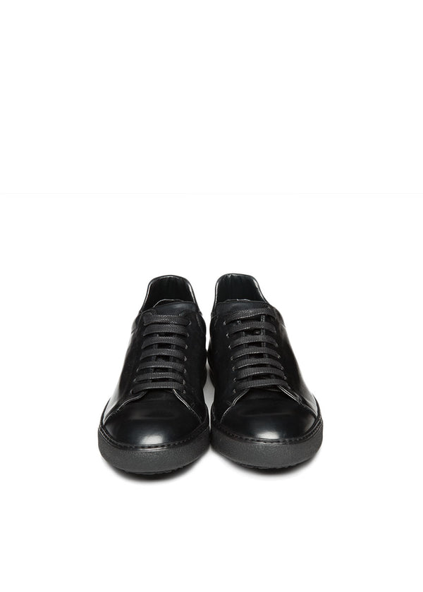 Spring St. Sneaker in Blackout-Ari Soho