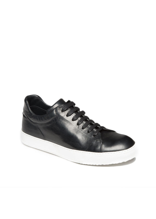 Spring St. Sneaker in Black-White-Ari Soho