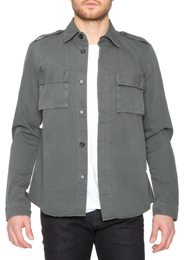 Military Shirt in Green-Ari Soho