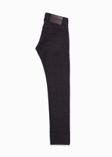 Black Raw Denim Jeans-Ari Soho