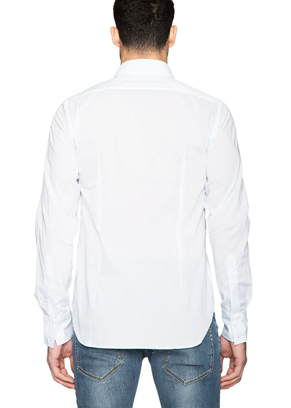 Mussola Shirt in White-Ari Soho