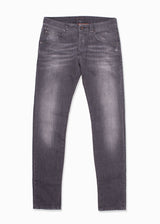 Gray Faded Denim Jeans-Ari Soho