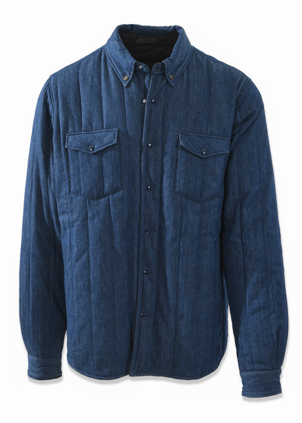 Brevna Downfill Reversible Shirt Jacket
