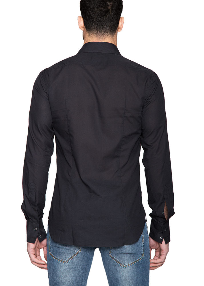 Mussola Shirt in Black-Ari Soho