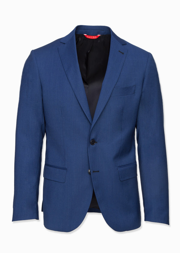 Royal Blue Wool Suit-Ari Soho