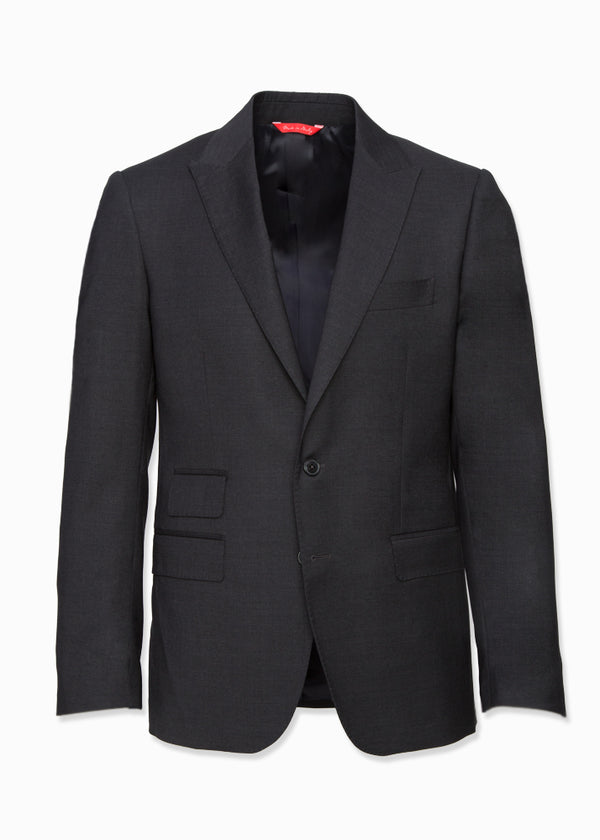 Charcoal Wool Suit-Ari Soho