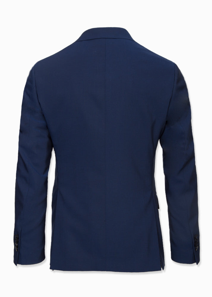 Blue Wool Suit-Ari Soho