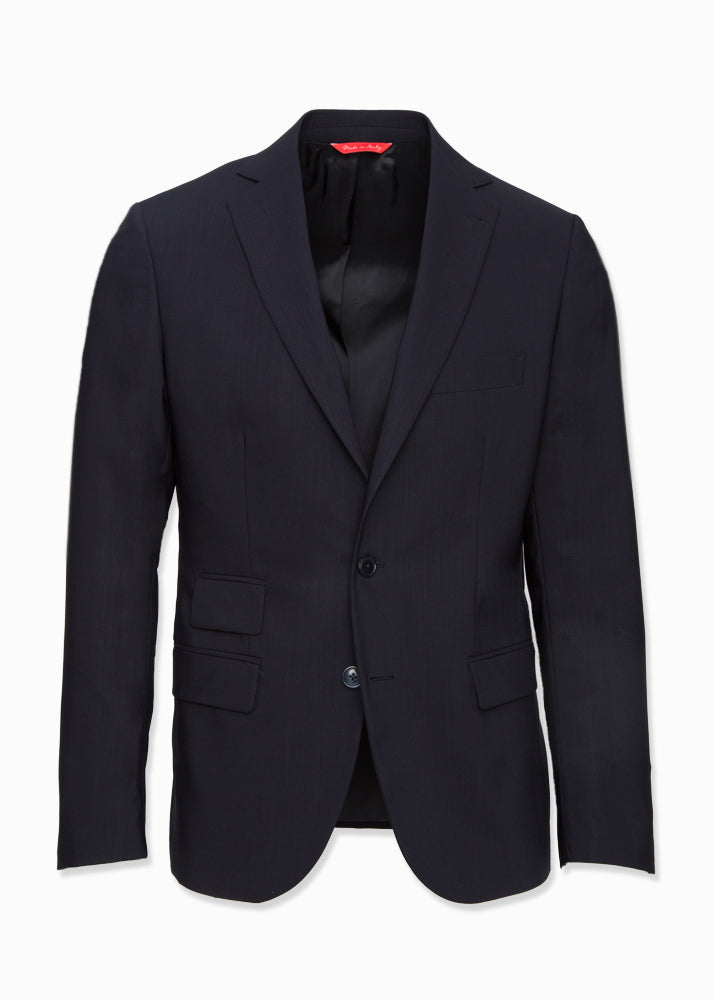 Navy Wool Suit-Ari Soho
