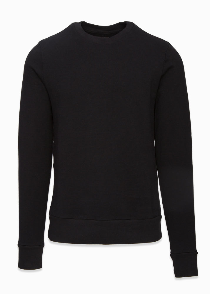 Cotton Crewneck Pullover-Ari Soho